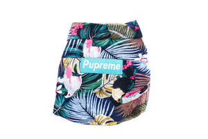 Pupreme In The Tropics Top: Blue