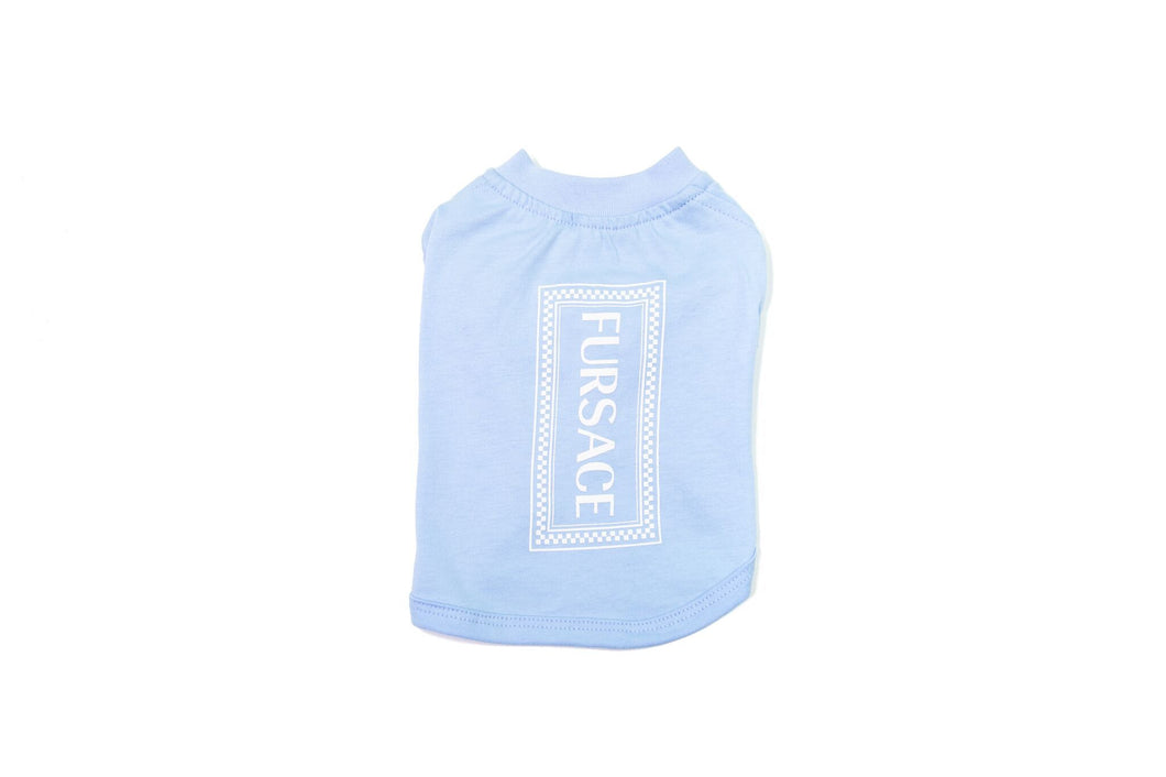 Fursace 90's Shirt: Light Blue