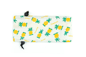Cool Summer Ice Pack Collar: Pineapple