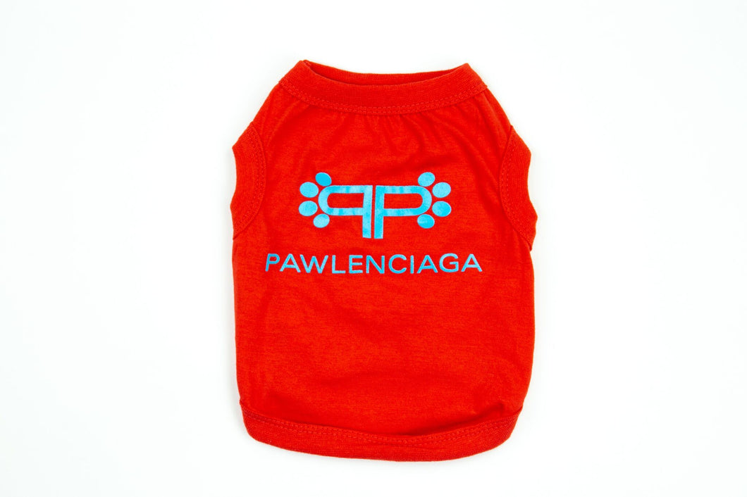 Pawlenciaga Shirt: Red