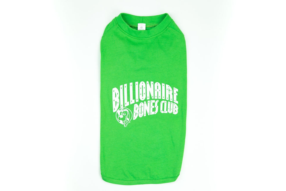 Billionaire Bones Club Shirt: Green