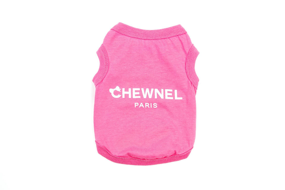 Chewnel Paris Shirt: Pink