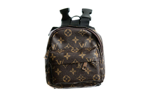 Chewy Vuitton Backpack: Brown