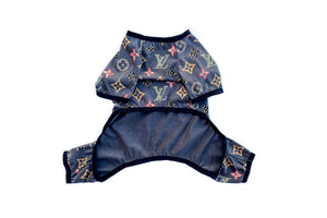 Chewy Vuitton Onesie: Black