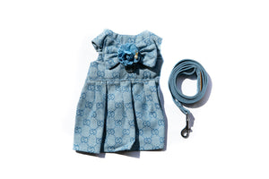 Poochi Harness Dress & Leash Set