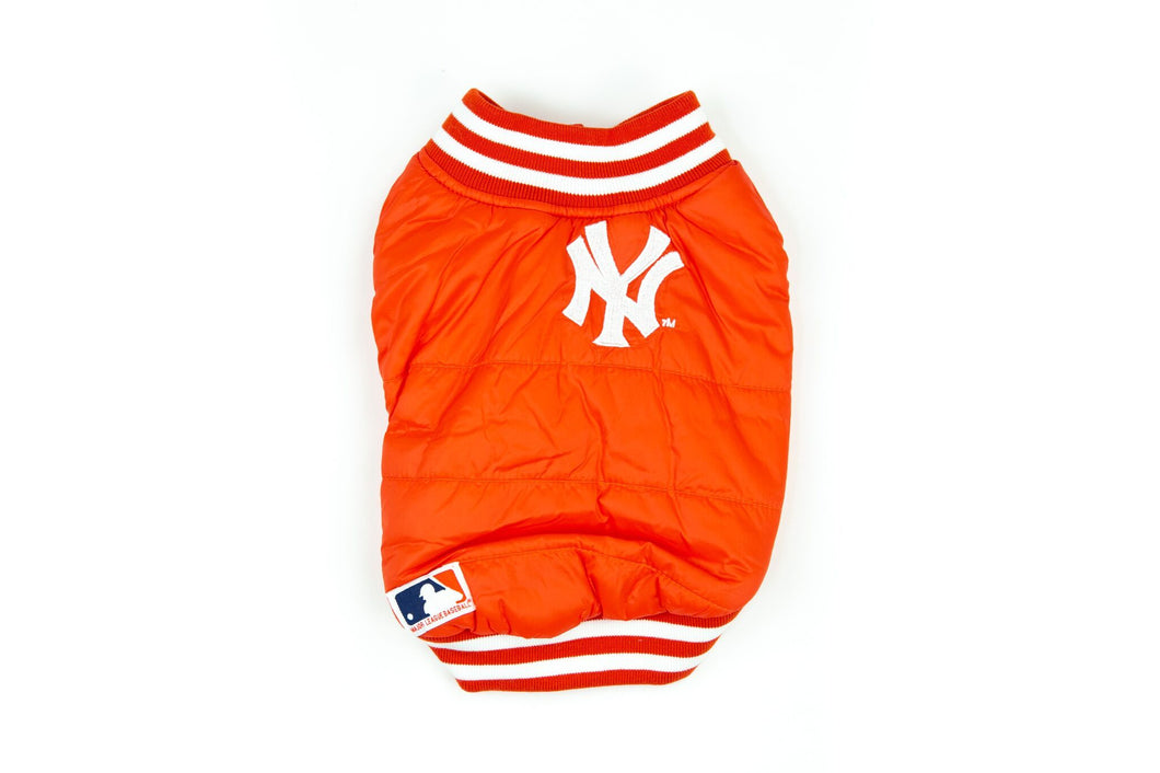New York Bomber Jacket: Red
