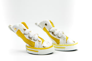 AirPup Sneakers: Yellow
