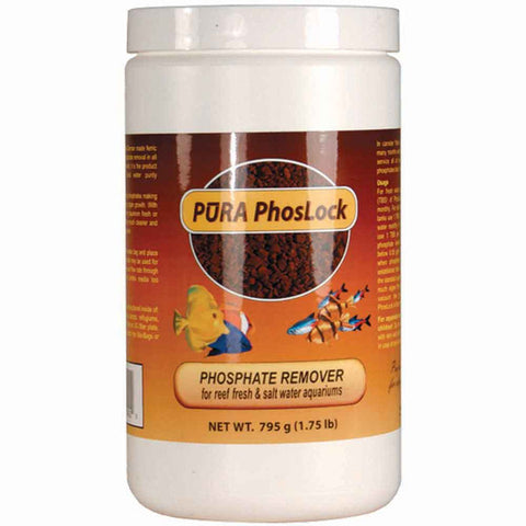 PURA PhosLock Stable 2-4mm granules 795g (1.75 lb) Treats 1600Gal (bag incl.)