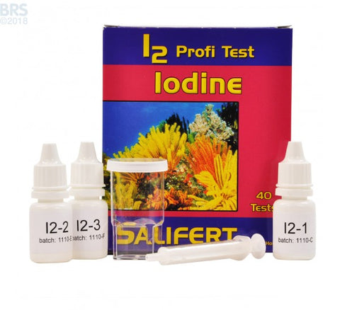 Salifert Iodine Profi Test English Instruction only