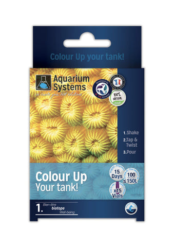 Aquarium Systems Colour Up Your Tank x 15 vials