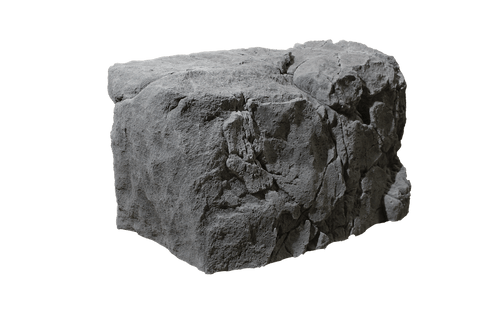 Back to Nature Giant Rock Outdoor Garden Grey(Module 5 - 86x50x52cm)