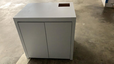 Second Hand - White Matt Cabinet of 800x600xH900