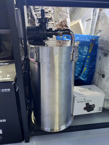 WM Stainless Steel Canister Filter 10 litres