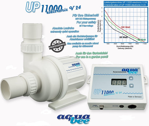 Aquabee UP11000 Universal centrifugal pump electronic 24V DC (adjustable) 0-100W