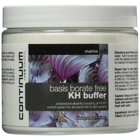 Continuum Basis BF Borate free reef building buffer 500g