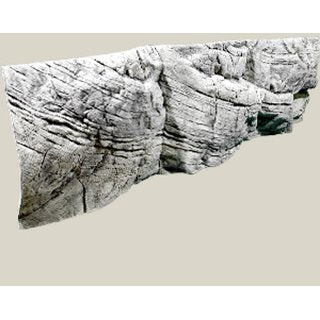 Back to Nature 3D Background Tanganyika white(L: 200 x H: 60 cm)