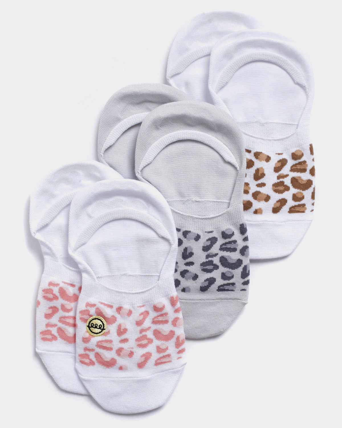 Cheetah Print No Show Sock Bundle