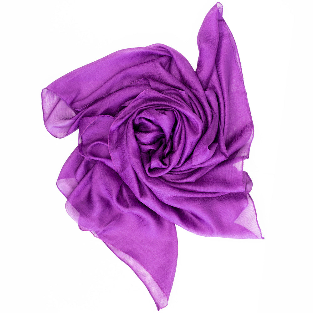 khalees monochrome silk purple