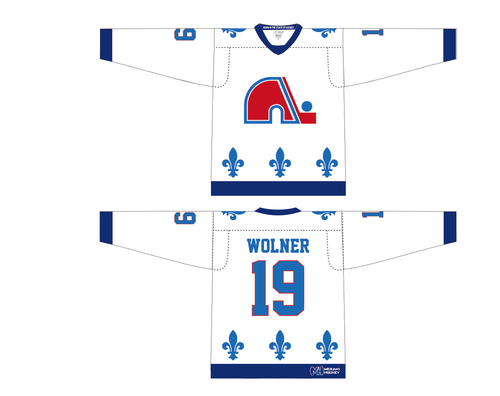 Nordiques Away Jersey