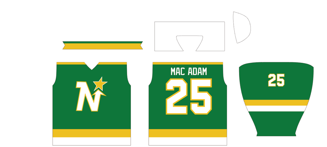 North Stars Home Jersey
