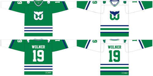 Whalers Home and Away Jersey Combo
