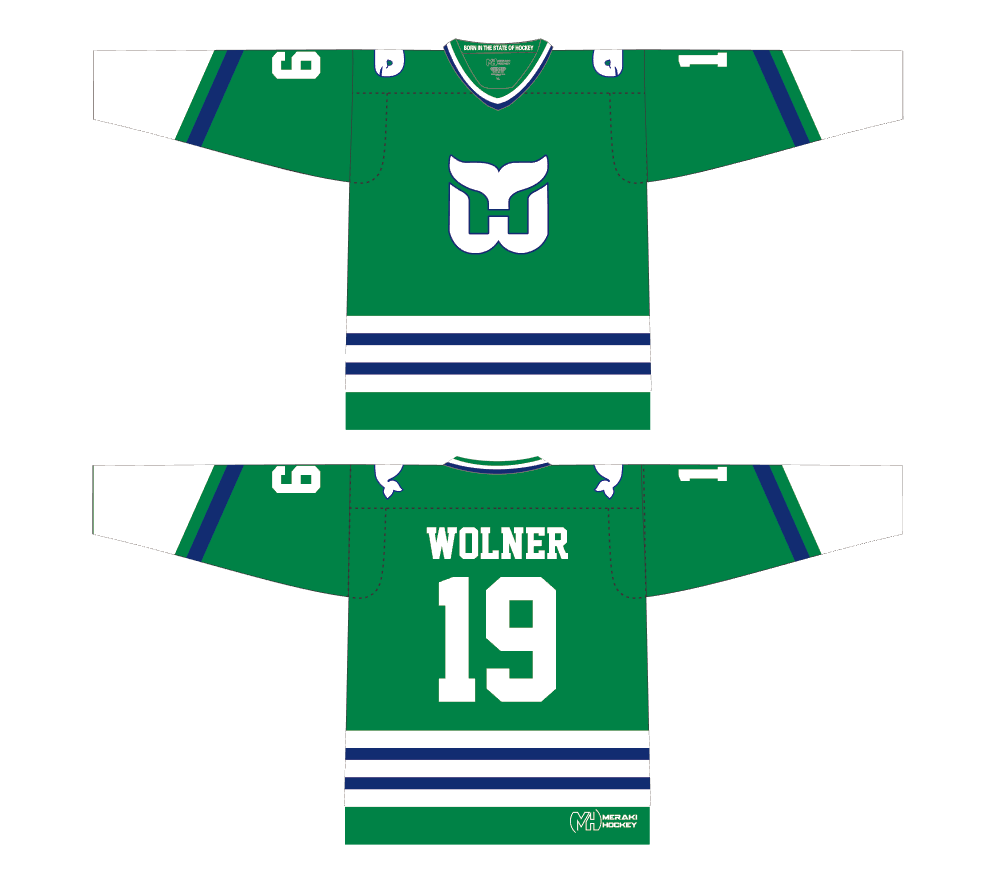 Whalers Home Jersey