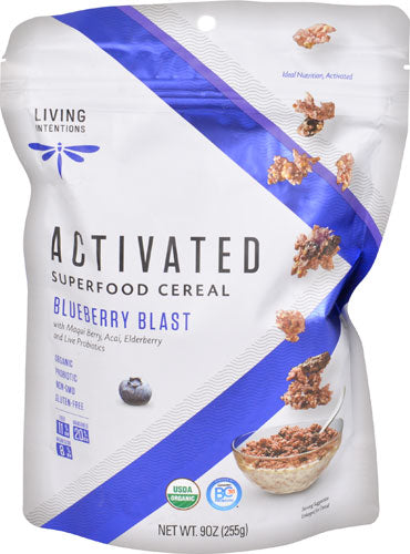 Organic Activated Superfood Cereal Blueberry Blast