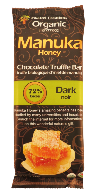 Organic Manuka Honey Truffle Bars