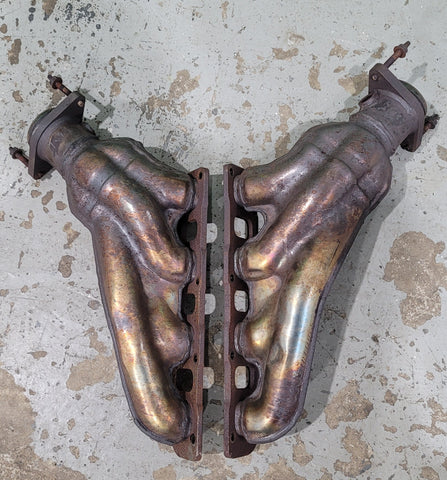 Stock hellcat exhaust manifolds