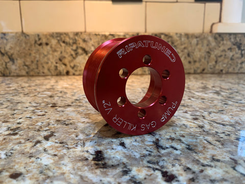 "Ripatuned ""Pump Gas Killer V2"" Supercharger Pulley Ring"