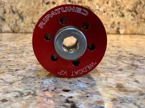 "Ripatuned ""Wildcat V2"" Hub and Pulley system"