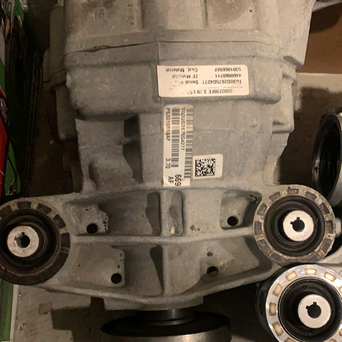 3.70 ratio hellcat rear diff