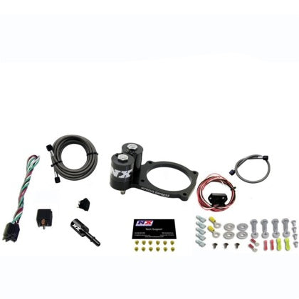 Nitrous Express Dodge Hellcat/Demon/Demon/Trackhawk Nitrous Plate Kit (Choose Bottle Options)