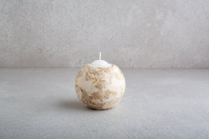 Marble Circle Votive (Small)
