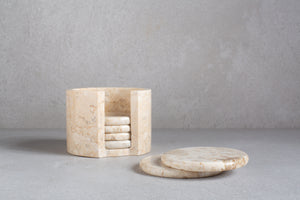 *PRE-ORDER* Marble Coasters (Cream) [October Delivery]
