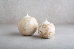 Marble Circle Votive (Large)
