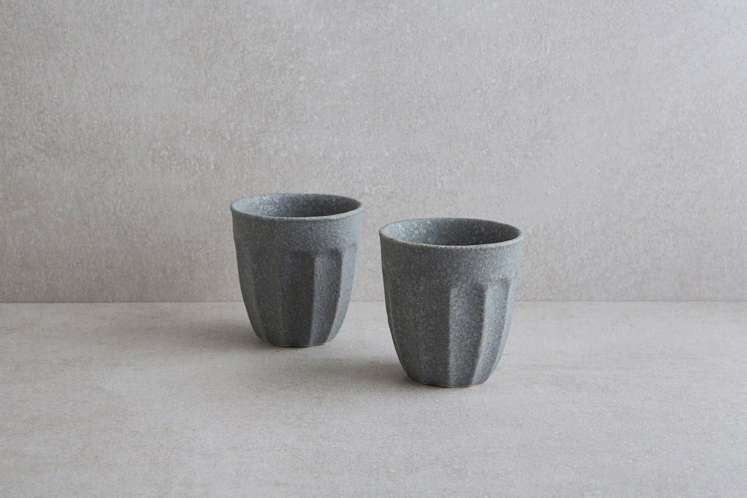 Grey Textured Cup