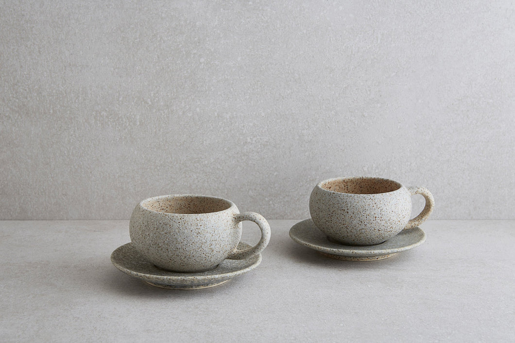 Textured Coffee Cup