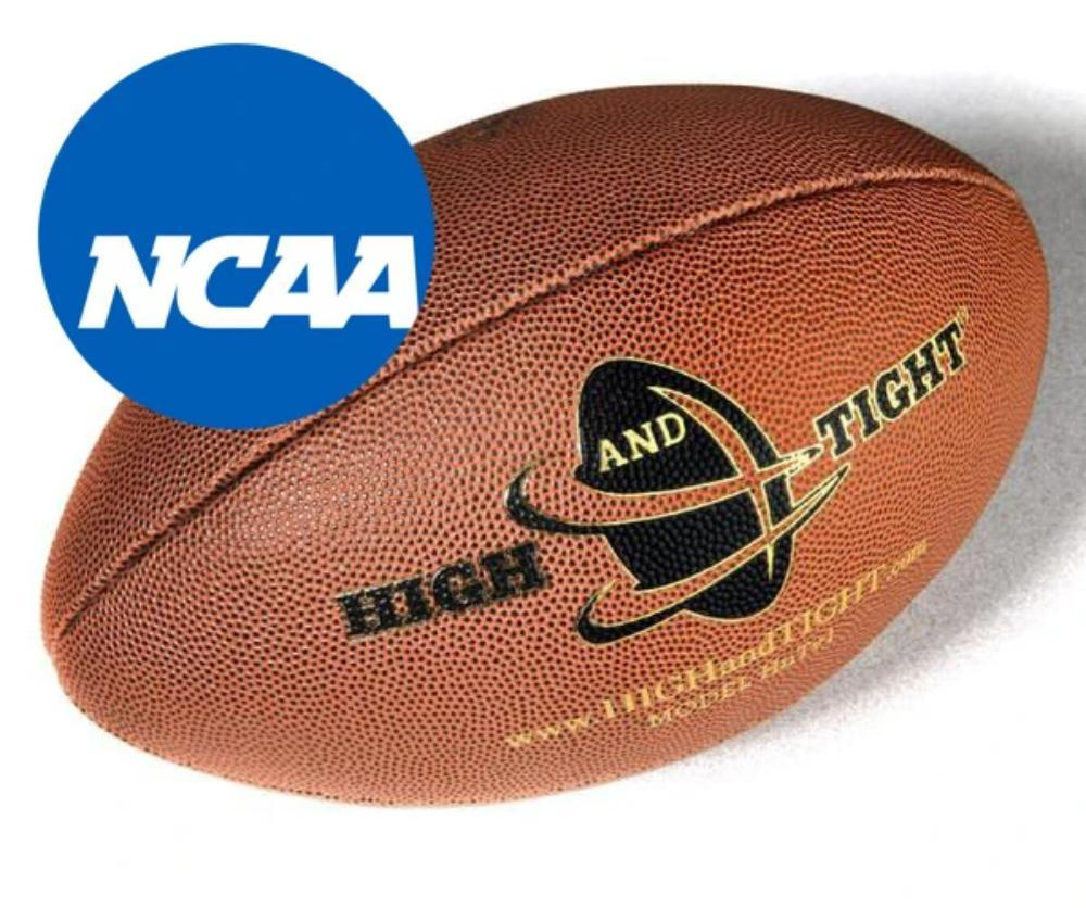 High School / D2, D3 College Edition Training Footballs HIGHandTIGHT HQ