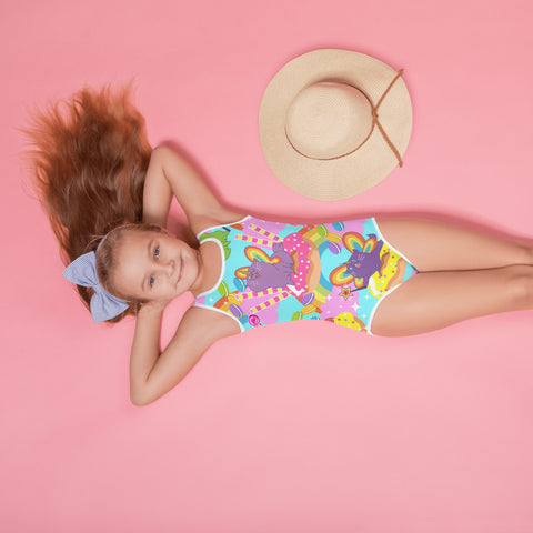 Caticorn Kids Swimsuit