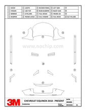 Load image into Gallery viewer, CHEVROLET EQUINOX 2018 2019 3M Scotchgard PPF Pro Series Kits
