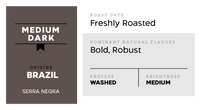 421°F Medium Well (Smooth, Rich and Bold) - Brazil Washed Process