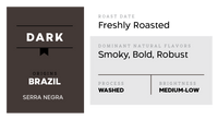 430°F Medium Well (Robust, Dark and Smoky) - Brazil Washed Process