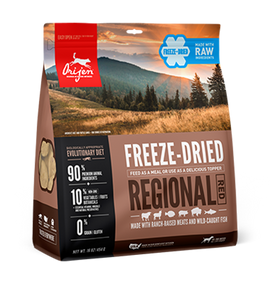 WHY WE LOVE ORIJEN FREEZE-DRIED