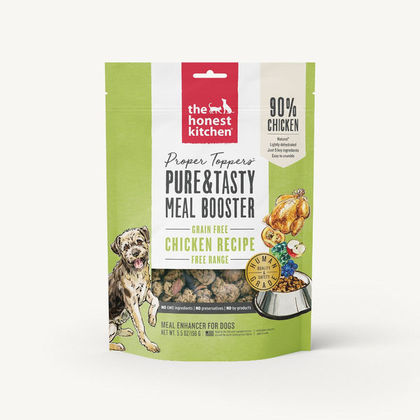 The Honest Kitchen Proper Toppers Chicken 5.5oz Dehydrated Dog Food