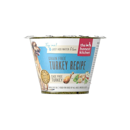 Honest Kitchen Grain-Free Turkey Dehydrated Dog Food 1.75oz - Paw Naturals