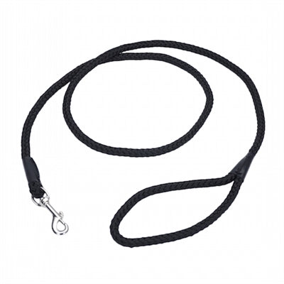 Coastal Pet Products Rope Leash 6' Black - Paw Naturals