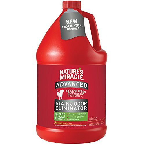 Nature's Miracle Advanced Stain & Odor Rem Pour Dog 128z