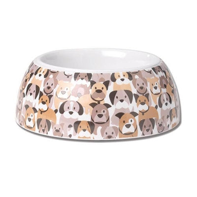 Petrageous Designs! Pooch Parade White Multi, 4 Cups