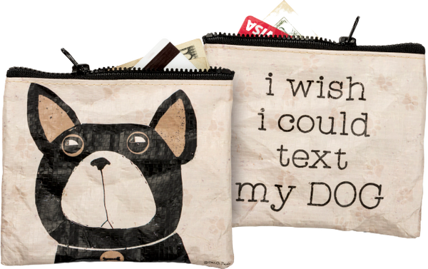 Primitives by Kathy Zipper Wallet - Text My Dog